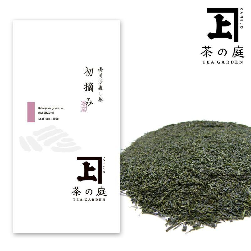 かねじょう 茶の庭 静岡・掛川茶 初摘み
