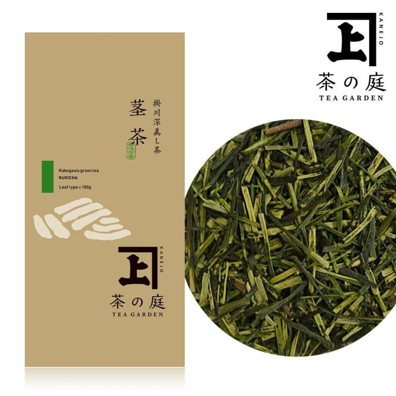 かねじょう 茶の庭 静岡・掛川茶 茎茶 100g