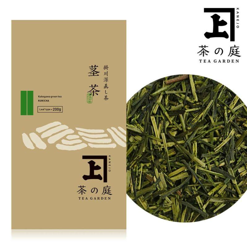 かねじょう 茶の庭 静岡・掛川茶 茎茶(棒茶)