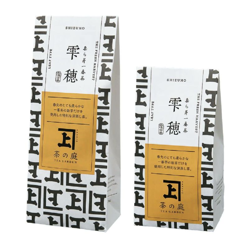 かねじょう 茶の庭 柔ら芽一番茶 雫穂 40g