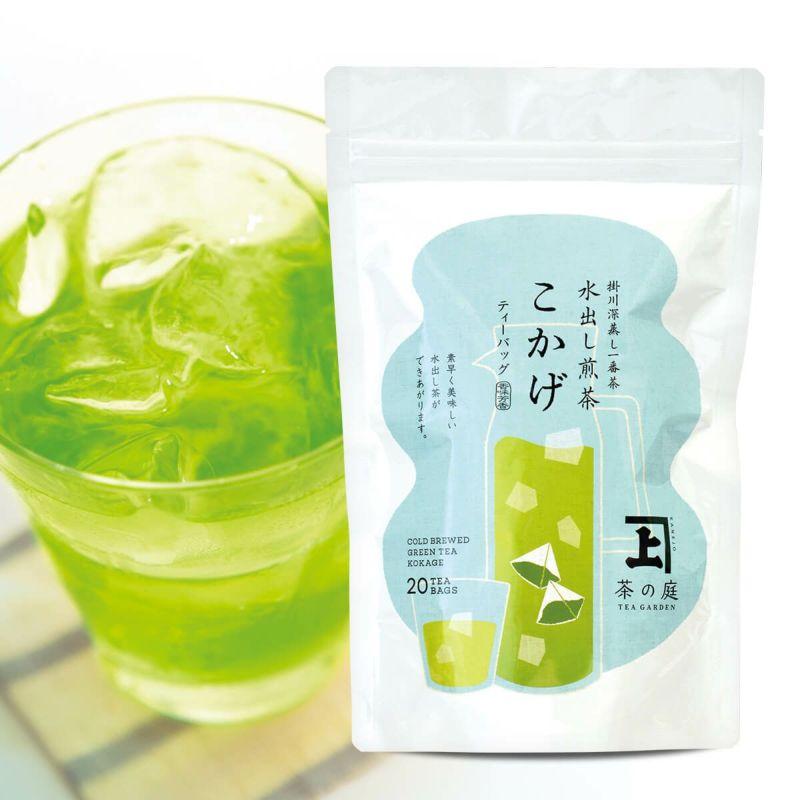 かねじょう 茶の庭 水出し煎茶 こかげ 1袋(20個入り)