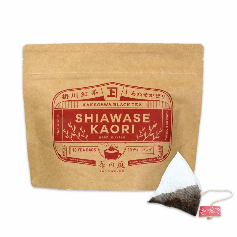 かねじょう 茶の庭 掛川紅茶 しかわせかほり ティーバッグ 10個入り