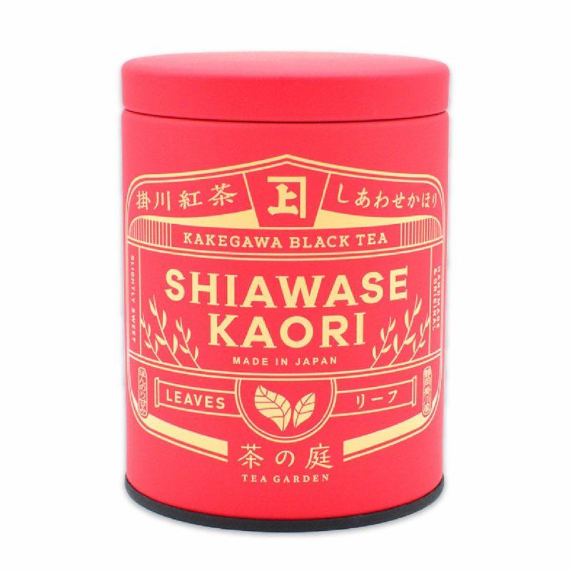 かねじょう 茶の庭 掛川紅茶 しあわせかほり リーフ缶入り 50g