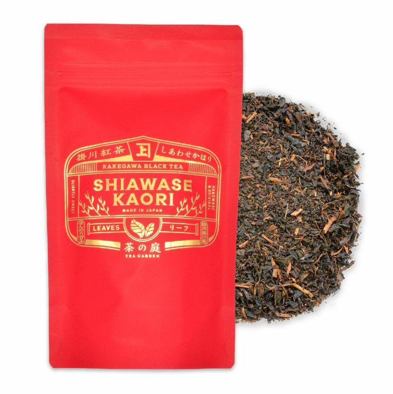 かねじょう 茶の庭 掛川紅茶 しかわせかほり リーフ 80g入り